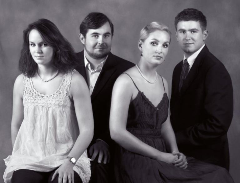Agnete A. Berner, Gustav A. Berner, Caroline E. Berner & Christian A. Berner