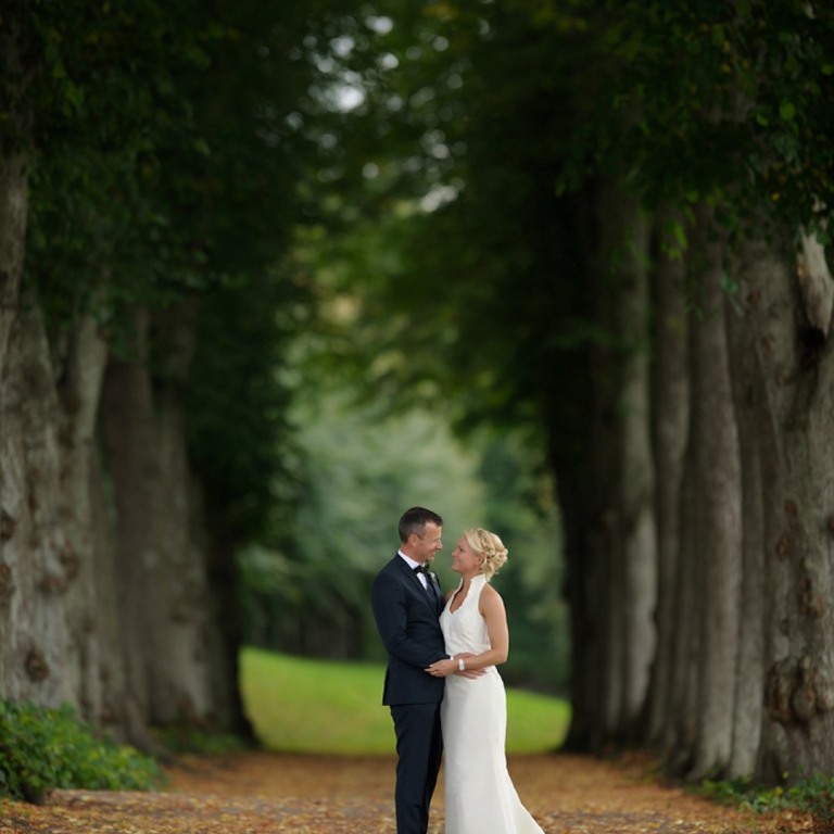 Bryllupsfotos - Clausholm Slot & Park